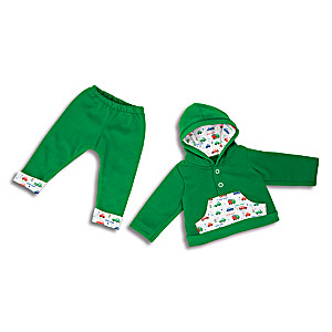 """Hoodie And Matching Sweatpants Set For 16"""" - 19"""" Baby Dolls"""