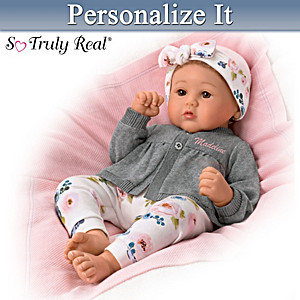 Marissa May Truly Yours Baby Doll With Personalized Sweater