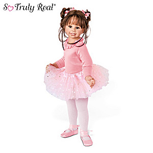 "Monika Levenig ""Lara"" Fully Jointed Ballerina Child Doll"