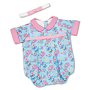 """""""Bright And Beautiful"""" 2-Piece Baby Girl Doll Accessory Set"""