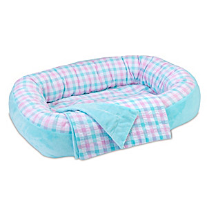 Reversible Bassinet And Matching Blanket