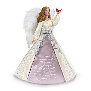 """""""Forever In Our Hearts"""" Angel Doll With Remembrance Message"""