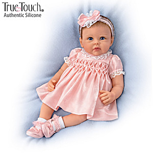 Linda Murray All Dolled Up Lifelike Silicone Baby Girl Doll
