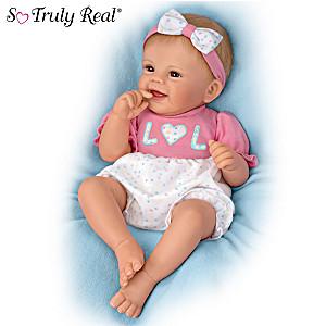 "Violet Parker ""Lots Of Laughs, Lola"" Lifelike Baby Doll"