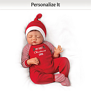 "Bonnie Chyle ""Baby Of Mine Christmas"" Personalized Doll"