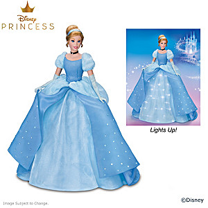 Disney's Cinderella Doll With Illuminated Gown