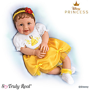 Ping Lau Vinyl Baby Doll With Disney's Belle-Inspired Outfit
