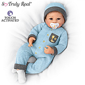 "Oliver Baby Doll ""Breathes,"" ""Coos"" And Has A ""Heartbeat"""