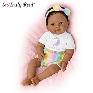 "Ping Lau ""One-Of-A-Kind Ciara"" Lifelike Poseable Baby Doll"