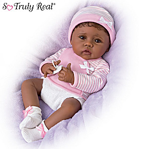 Linda Murray Lifelike Baby Doll With Magnetic Pacifier