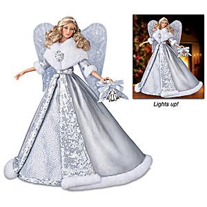 """Carol Of The Bells"" Illuminating Musical Angel Doll"