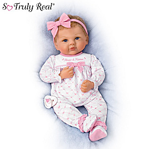"Violet Parker ""Kisses For Mommy"" Baby Doll With Pacifier"