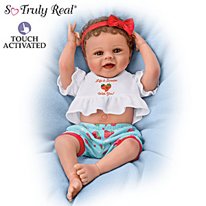 """Violet Parker """"Belly Laughs Bella"""" Interactive Baby Doll"""