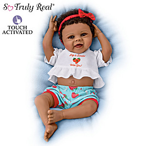 "Violet Parker ""Belly Laughs Brooke"" Interactive Baby Doll"