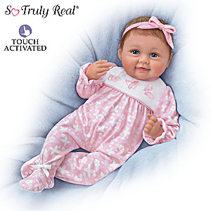"""Hold Me Hailey"" Interactive Baby Doll Makes Four Sounds"