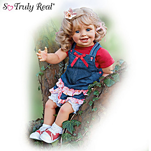 "Monika Gerdes ""Lea And The Summer"" Lifelike Child Doll"