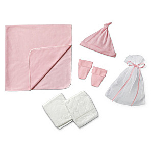 "Pink Homecoming Accessory Set For Baby Dolls 17"" - 19"" Long"