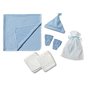 "Blue Homecoming Accessory Set For Baby Dolls 17"" - 19"" Long"