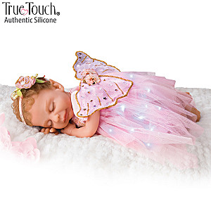 Ina Volprich Silicone Fairy Doll With Illuminated Outfit