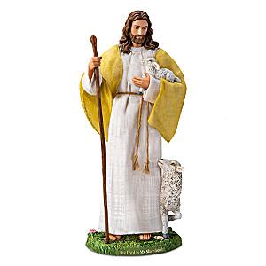Jesus Christ Portrait Doll Inspired By Psalm 23