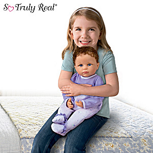 Calming Baby Doll With Weighted Body Created For Children