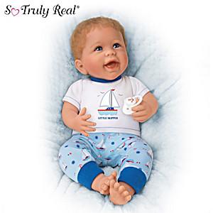 """Little Skipper"" Vinyl Baby Doll by Linda Murray"