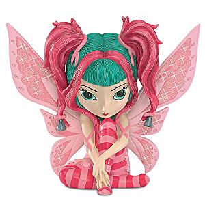 Jasmine Becket-Griffith Breast Cancer Support Fairy Figurine