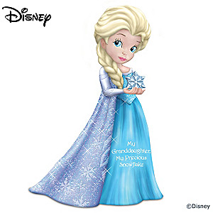 "Granddaughter Figurine Inspired By Disney's ""Frozen"""