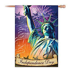 Independence Day Decorative Flag