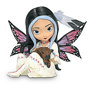 Jasmine Becket-Griffith Spirit Of Abundance Fairy And Bison