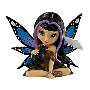 Ravensky, the Spirit of Good Fortune Figurine