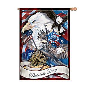 "Jody Bergsma ""Patriots Day"" Decorative Flag"