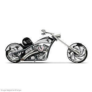 Chicago White Sox Home Run Racer Motorcycle Figurine