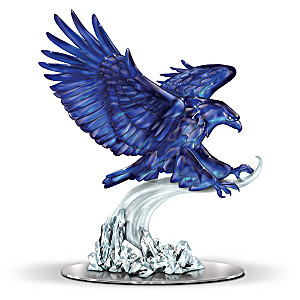 Spirit Of Benitoite Soaring Eagle Figurine