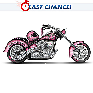 """Rebel Girl """"The Power Of Pink"""" Breast Cancer Support Chopper"""