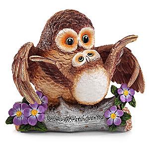 "Kayomi Harai "" Owl Always Watch Over You"" Figurine"