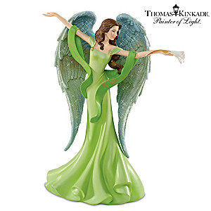 "Thomas Kinkade Angel Graced With ""You Are My Life, My Grace"""