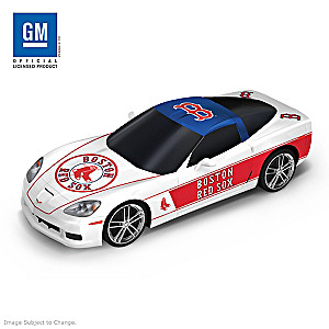 "Boston Red Sox ""Home Run Cruiser"" 2009 Corvette Sculpture"