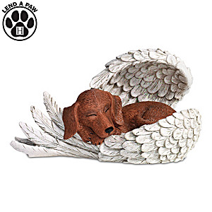 Heaven's Paw-fect Blessing Figurine By Blake Jensen