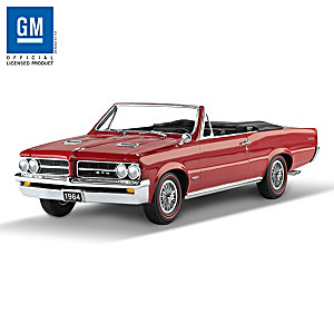 1:18-Scale 1964 Pontiac GTO 50th Anniversary Sculpture