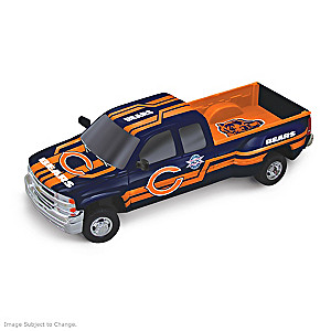 Bears Super Bowl XX Chevy Silverado Sculpture