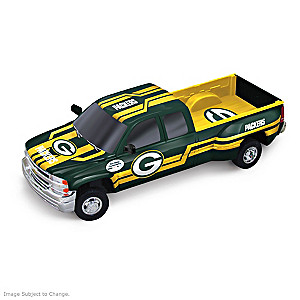 Packers Super Bowl I Chevy Silverado Sculpture