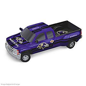 Ravens Super Bowl XXXV Chevy Silverado Sculpture