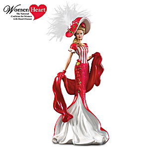 Dona Gelsinger Victorian Lady Figurine Supports Heart Health