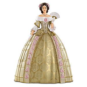 Queen Victoria Attends The Stuart Ball Fashion Figurine