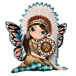 "Jasmine Becket-Griffith ""Midnight Call"" Fairy Figurine"