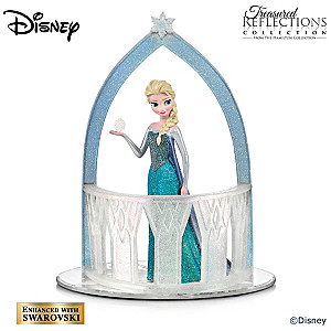 "Disney FROZEN ""Queen Of Snow And Ice"" Elsa Figurine"