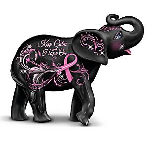 """Blake Jensen """"Keep Calm And Hope On"""" Elephant Figurine"""