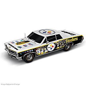 Pittsburgh Steelers Super Bowl Car Sculpture: 1:18 Scale