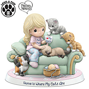 Precious Moments Porcelain Figurine Supports ASPCA's Mission